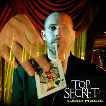 DVD- Top Secret Card Magic