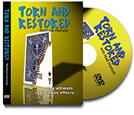 Torn and Restored Card DVD