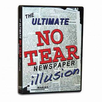 DVD- Ultimate No-Tear Newspaper Illusion
