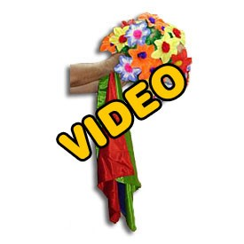 PASSWORD: Giant Bouquet From Silks Tips Video