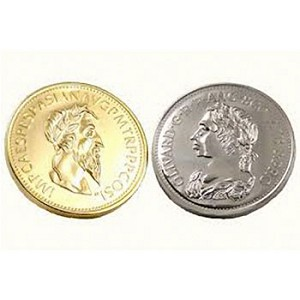 Gold and Silver Coin Trick