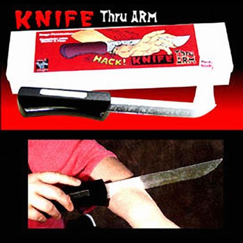 Knife Thru Arm