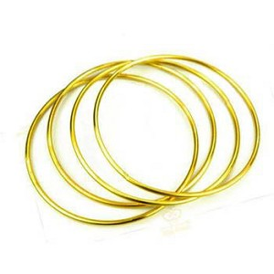 Linking Rings- Gold