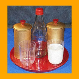 Milk and Water Separation