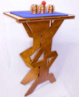 Table- Folding Wood Zig Zag