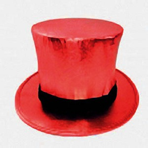 Top Hat with Load Chamber- Collapsible RED