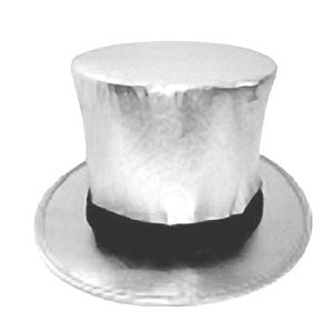 Top Hat with Load Chamber- Collapsible SILVER