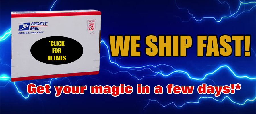 MagicTricks.com Shipping Information