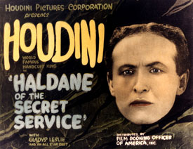 Houdini in HALDANE OF THE SECRET SERVICE movie