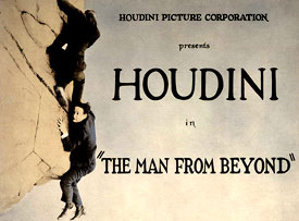 Houdini in THE MAN FROM BEYOND movie