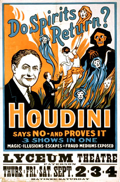 Houdini Spirits Return poster