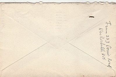Houdini envelope from Earl Mayo