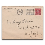 SOLD Houdini Envelope - Dr. W.G. Kendall