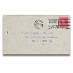 SOLD Houdini Envelope - Adolph Ochs THE NEW YORK TIMES