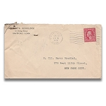 SOLD Houdini Envelope -  Kellar Doodle and Chuck Patent