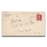 SOLD Houdini Envelope - Fred N. Withey SURETY BOND