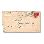 Houdini Envelope -  Andrew J Lloyd Co., Photographic Lenses