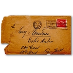 SOLD Houdini Envelope -  Estee Studio