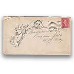 Houdini Envelope - Mysterious Gillette, Lawrence Weber and Doodles
