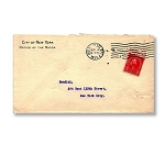 Houdini Envelope -  Mayor of New York