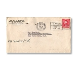 SOLD Houdini Envelope -  Scientific American and Margery