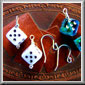Large Dice Earrings