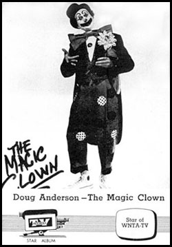 Doug Anderson Magic Clown