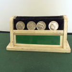 SOLD Abbotts Coin Vanishing Stand - VINTAGE