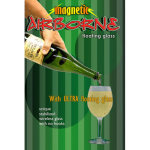 86 DISCONTINUED Airborne Champagne Bottle