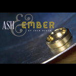 Ash and Ember Ring - Beveled Gold Size 12