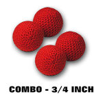 Balls- Combo Small- Set of 4
