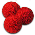 Balls- Finale Knit Set of 3 RED