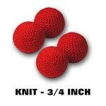 Balls- Knit Small- Set of 4