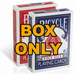86 DISCONTINUED Bicycle Card Box - Empty