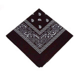 *CLOSEOUT* Black Bandana- Semi Opaque