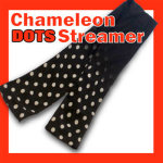 Chameleon Dots Silk Streamer
