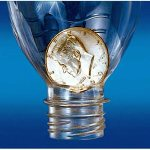 DISCONTINUED Half Dollar Coin In Bottle + ONLINE VIDEO