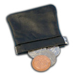 Large Spring Hinge Coin Pouch