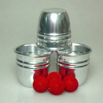COMBO Cups and Balls Set- Aluminum