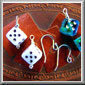 86 DISCONTINUED Large Dice Earrings
