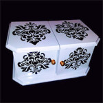 India Scroll Die Box