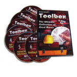86 DISCONTINUED DVD Set- Toolbox