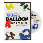 DVD- Ultimate Balloon Animals and More