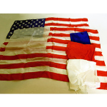 Rice Mismade American Flag Set - VINTAGE