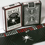 86 DISCONTINUED Spider Black Deck with BONUS Cards