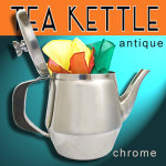 Magic CHROME Tea Kettle + 3 FREE Silks