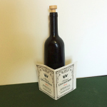 SOLD Vanishing Corked Wine Bottle - PREOWNED
