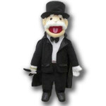 86 DISCONTINUED Magician Ventriloquist Puppet