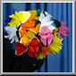 Large Paper Spring Flowers Bouquet