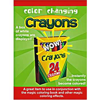 Color Changing Crayons - Fast Shipping | MagicTricks.com